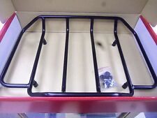 HARLEY Deluxe Trunk Luggage Rack for the Harley FLH trunk SATIN BLACK FINISH