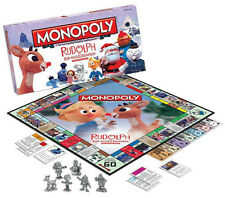 RUDOLPH THE RED NOSE REINDEER MONOPOLY COLLECTORS EDITION USAOPOLY SEALED & NEW