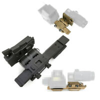 QD Flip-To-Side Magnifier Flip Mounts for EOTech G23 / G33 Riser Picatinny Rail