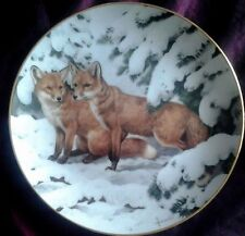 Fox Farm/Countryside Plates/Spoons Collectables
