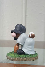 Duncan Royale Figurine Nothing To It/Baseball/African American Art