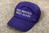 Make Britain Great Again Baseball Cap Hat Brexit UKIP Election Vote Leave Trump