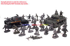 New Caesar 1/72 German Army Men Figures (30pcs Diff. Poses) WWII Toy Soldiers