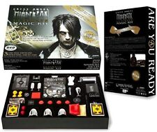 New Criss Angel Ultimate Magic Kit DVD Tricks MIndfreak Set Magician Kids, Black