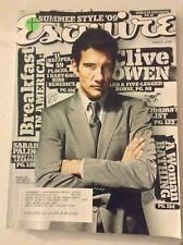 Esquire Magazine Clive Owen Sarah Palin March 2003 060119nonrh
