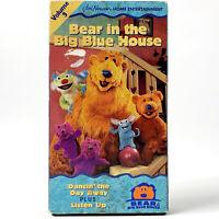 Bear In The Big Blue House - Dancin' The Day Away Plus Listen Up Volume 3 VHS