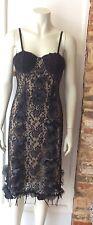SARA BERNSHAW BLACK LACE COCJTAIL DRESS SIZE 10