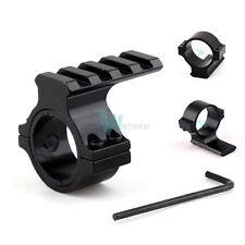 """20mm Weaver Picatinny Rail 30mm 1"""" 25mm Ring Adapter for Rifle Laser Scope Light"""