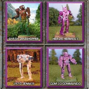 BattleTech Miniatures: Striker Lance IWM10-041