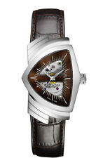 Hamilton Ventura Brown Dial Skeleton Dial Men's Watch H24515591