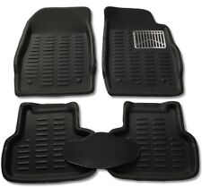 3D Foot Mats Car mats Black Color for Maruti Suzuki New Baleno(3 Pcs)