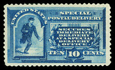 Scott E1 1885 10c Special Delivery Perforated 12 Issue Mint F-VF OG LH Cat $550