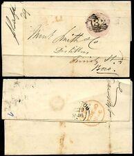 Numeral Cancellation Pre-Decimal British Stamp Covers