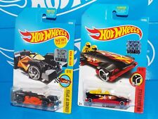 Hot Wheels Factory Set 2017 Lot of 2 Cars Flash Drive & Ice Shredder