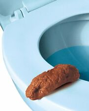 Bathroom Prank Fake Party Pooper Crap Turd - Human Poop Funny Joke Toilet Poo