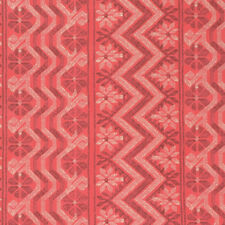 Amy Butler Bright Heart Passionate Papaya Cosmo Weave Cotton Fabric - Per 1/4...