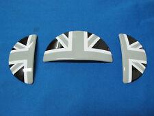 UK Black Grey Interior Door Handle+Glove Box Covers for Mini Cooper R50 R52 R53