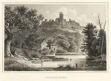 BORGHOLZHAUSEN - BURG RAVENSBERG - Freiligrath - Stahlstich 1872