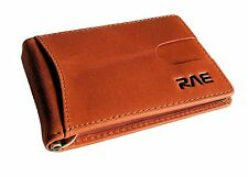 RAE RFID Wallet for Men - Genuine Soft Full Grain Leather RFID Blocking Wallet -