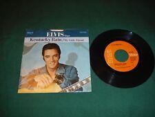 Elvis Presley Kentucky Rain / My Little Friend 45 SLEEVE WITH Vinyl Record