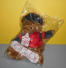"New 16"" Liz Claiborne Plush Stuffed Animal Bear Snowboard Snow Board Hat Jacket"