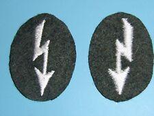 b4601 WW2 Late War German Army  Signals Blitz Embroidered