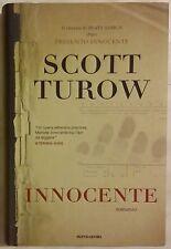 Innocente di Scott Turow 1°Edizione Mondadori 2010 nuovo