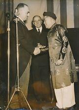 Le Prince Bun Loc - Jean Letourneau - Maréchal de Lattre de Tassigny 1952-PR 356