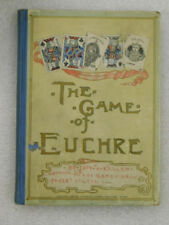 The Game of Euchre (DRAW POKER) by John W. Keller antique 1887