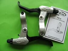 Brake Levers Set AVID FR-5 Silver/Black Right+Left For V-Brake NOS New