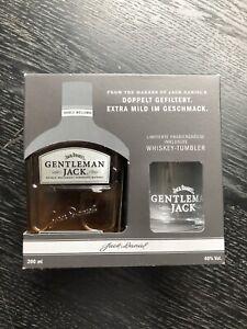 Jack Daniels Gentleman Jack 200 ml + Tumbler Geschenkset 40 % 0,2 ltr. limitiert