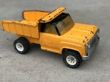 Vintage Metal Yellow Toy Tonka Dump Truck
