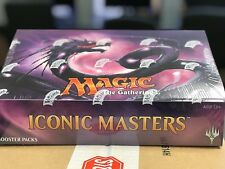 MTG Iconic Masters Booster Box - Factory Sealed - FREE Priority Shipping!