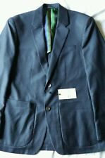 "NWT ROBERT GRAHAM ""SNIPE-CHECK SPORT COAT"" COLOR NAVY SIZE 38 $598.00"