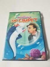 SEALED!! The Incredible Mr. Limpet (DVD, 2009, Widescreen) Don Knotts Rated G