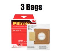 3M Filtrete 65705 Dirt Devil O Tattoo Vacuum Bags 3 Pack