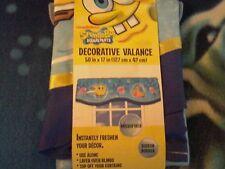 Nickelodeon Spongebob Squarepants Decorative Valance 50 in x 17 in Polyester