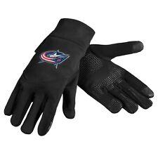 Columbus Blue Jackets Neoprene Gloves Sports Logo Winter Texting Tips - High End