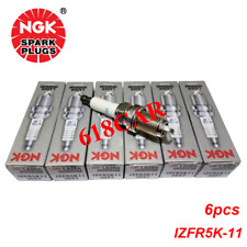NGK 3657 IZFR5K11 Laser Iridium 6PCS Spark Plugs for Honda Odyssey Acura Saturn