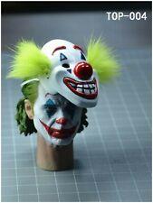 In-stock 1/6 TOP-004 Joker Head Sculpt HW/Neck (W/ Mask)