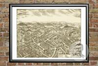 Old Map of Pawling, NY from 1909 - Vintage New York Art, Historic Decor