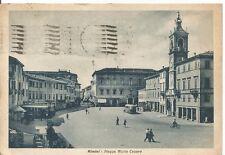 200140 RIMINI CITTÀ Piazza GIULIO CESARE Cartolina viaggiata 1943