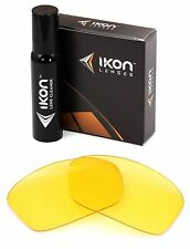 Polarized IKON Replacement Lenses For Oakley Hijinx Sunglasses HD Yellow