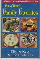 Taste of Home Family Favorites Slow Cooker Lot Two Vintage Recipe Booklets