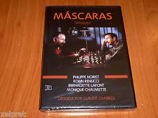 MASQUES / MASCARAS - Claude Chabrol - FRANCES / ESPAÑOL - Precintada