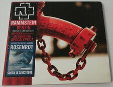 RAMMSTEIN - BENZIN / 4. TRACK DIGIPACK CD + *FRENCH HYPE STICKER*