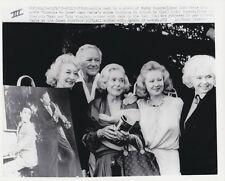 1978 Press Photograph BUDDY ROGERS, ALICE FAY, VIRGINIA MAYO, TOBY WING