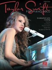 Taylor Swift Learn to Play Country Songs Love Story Piano Solo Music Book