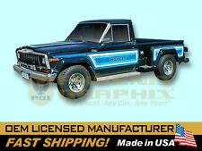 1981 1982 1983 Jeep Honcho J10 Sportside Stepside Truck Decals & Stripes Kit