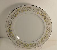 2  Wallace Heritage Yorkshire  White Ripple  Swirl Pattern Dinner Plates Japan